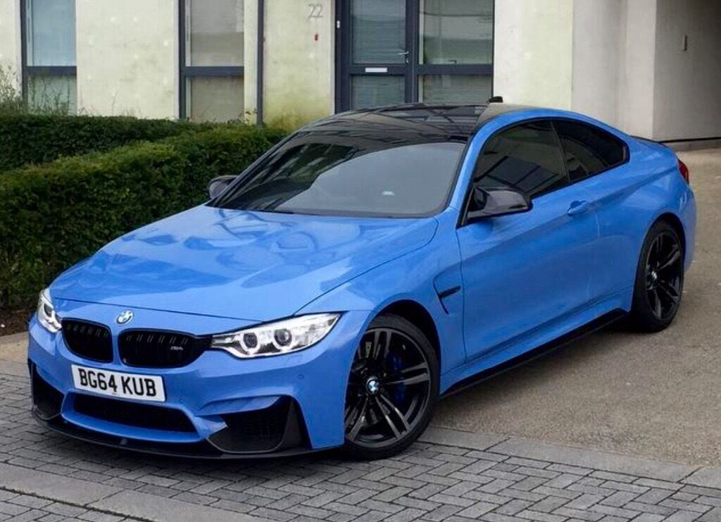 Bmw M4 Electric Blue New Cars Gallery