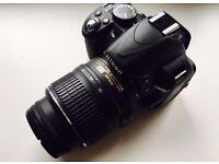 Nikon D3100 body + AF-S NIKKOR 18-55mm // FOR SALE!