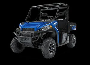 2018 Polaris Ranger 900 EPS Radar Blue