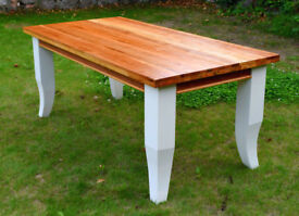 Country Farmhouse Kitchen Dining Table Newly Renovated 180cm by 90.5cm