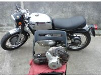 HONDA C90 engine 1989 12volt KICK START