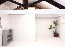 Desk and studio space for 2 photographers - Brixton