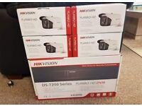 Hikvision 4 channel bullet cctv package
