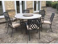 6 Chair garden furniture set