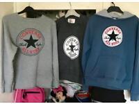 3 Converse all stars jumpers & hoodie