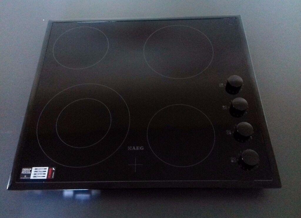 AEG HK614010BB 60cm 4 Burner Ceramic Hob