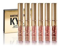 Brand New Ladies Kylie Birthday Edition Liquid Lipstick £20 Each