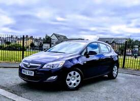 Vauxhall Astra 2012, Exclusive CDTI 1.6 Diesel, Manual, Blue. Warranted Low Mileage