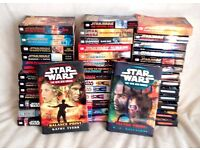 Exceptional 43 x Star Wars Book Collection