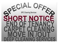 PROFESSIONAL HOUSE CLEANING HELP, SHORT NOTICE, ANY DAY END OF TENANCY CLEANERS, CARPET CLEANING JOB