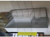Two huge indoor guinea pig/bunny cages, used but in SPOTLESS condition like new. One £50, one £75.
