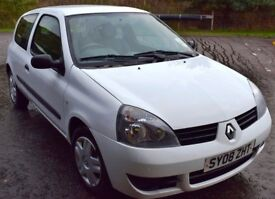 SOLD Renault Clio Campus Very Clean and Tidy MOT July 18 plus two extra winter tyres Drumnadrochit