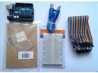 ARDUINO UNO KIT WITH BASE AND BREADBOARD