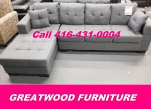 BRAND NEW CONDO SIZE SECTIONAL SOFA..$499 ONLY