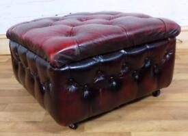Chesterfield foot stool