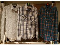 Mens shirts - Superdry and Zara