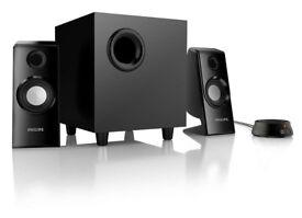 Philips 70W 2.1 Multimedia Computer Speakers SPA4355/05