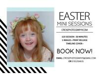 Easter mini photo session
