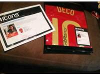 ICONS Deco hand signed Spain shirt 08 ICONS COA