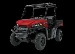 2018 Polaris Ranger 500 Solar Red