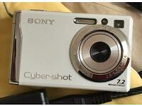 Sony Cyber-shot Dscw55 7.2mp Digital Camera With 3x Optical Zoom