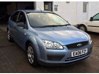 2006 Ford Focus 1.6 LX 5 door hatch 100k from new with history , new timing belt fresh 12mths mot !