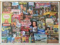 "Framed Jigsaw ""60's/70's TV Shows"""