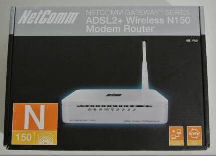 Wireless N Modem and Router - Netcomm NB14WN Parramatta Parramatta Area Preview