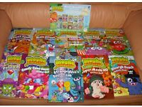 Moshi Monsters Activity Book Collection - 10 Books, Poster Art Set and Rucksack (see both photos).
