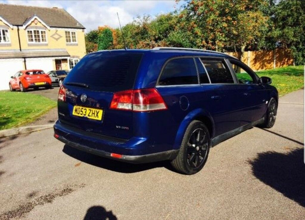 Vauxhall vectra estate 3.0 diesel automatic