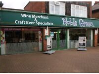 Noble Green - Sales & Store Assistant Wine Beer & Spirits
