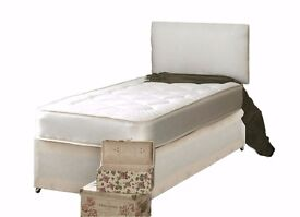 Cheapest Offer - High Quality - Brand New Single Bed With Orthopedic Mattress Only £79