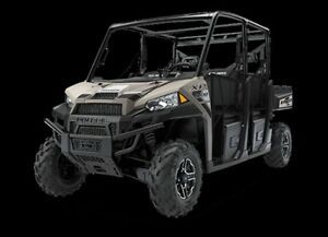 2018 Polaris Ranger Crew XP 1000 EPS Suede Metallic
