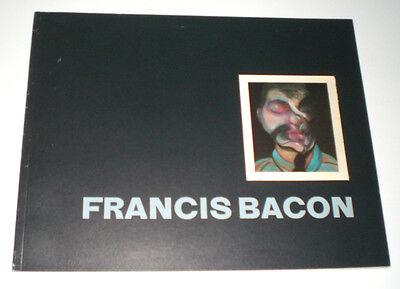 FRANCIS BACON RECENT PAINTINGS 68-74 CATALOGO MOSTRA 1975 METROPOLITAN MUSEUM