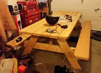 Picnic Table High Quality Home Made