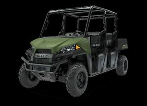 2018 Polaris Ranger Crew 570-4 Sage Green
