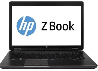 HP ZBook 17 G2 I7-4810MQ 2.8GHz, 32GB, 512GB SSD, No OS - Grade C