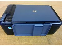 HP Deskjet F2420 All In One Printer Copier Scanner Includes Special Power Adapter