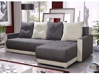 "Corner sofa bed sofa bed UK STOCK 1-5 DAY DELIVERY""Verona"""