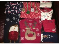 Size 18-24 Months Girls Christmas Clothes Bundle