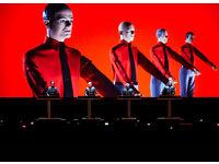 Kraftwerk 3-D - Brighton Centre - 1 ticket (South Balcony, Row D) - FACE VALUE