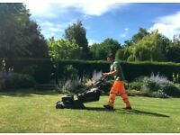 Professional landscaping & gardening: maintenance/paving/line marking/fencing/tree surgery.