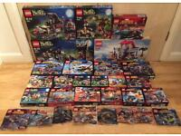 Job lot of used / new Lego sets WITHOUT minifigures. Every set pictured is included in the price