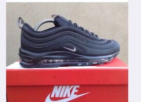 e538c6f6f865d Men s Nike air max 97 triple black