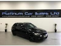 BMW 3 SERIES 318D M SPORT TOURING (black) 2009