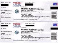 *** Madame Tussauds tickets x 2