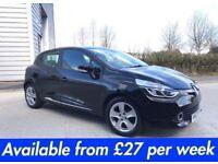 Renault Clio (Fiesta 1 series Corsa A1 A3 Astra Golf Polo) £27 per week