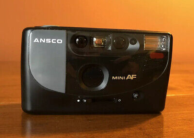 Ansco Mini AF • Point and Shoot 35mm Camera RARE