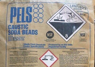 Sodium Hydroxide Fccusp Prilled Minimum 99 Pure 10lb Bottle