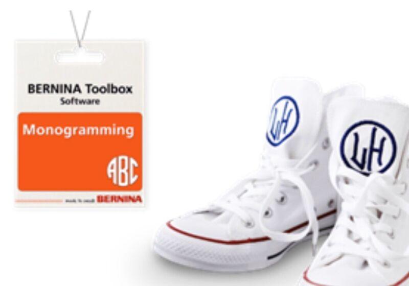 Bernina ToolBox Software - Monogramming 👀
